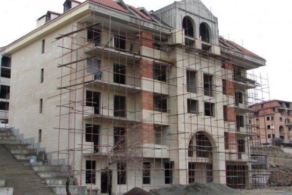 Cascade Hills Construction Progress, January 2013