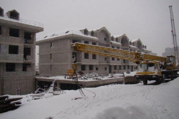 Cascade Hills Construction Progress, January 2012