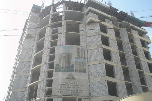 Construction Progress, April 2012
