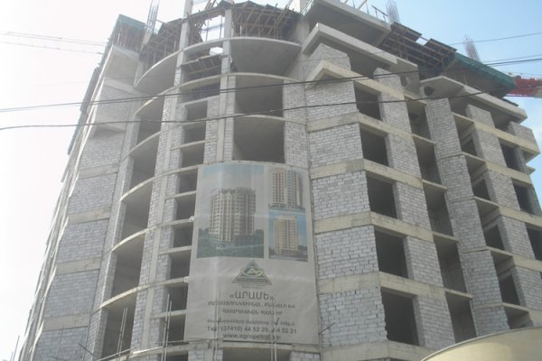 Construction Progress, April 2012