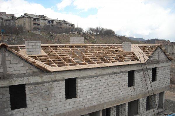 Construction Progress, April 2014