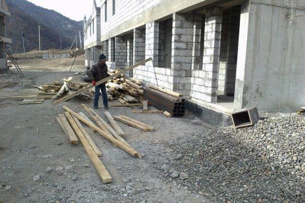 Construction Progress, January 2014