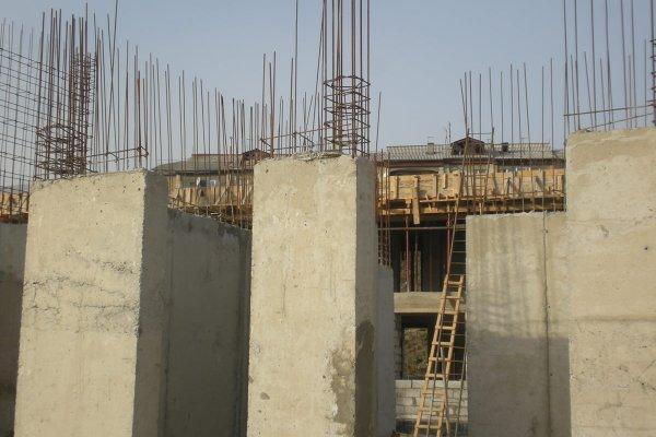 Construction Progress, October 2013