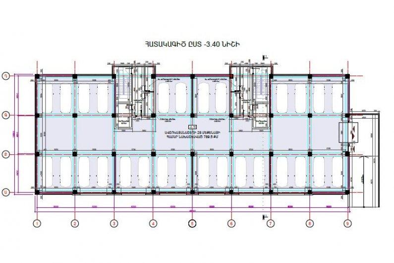 Underground Parking Floor Plan
