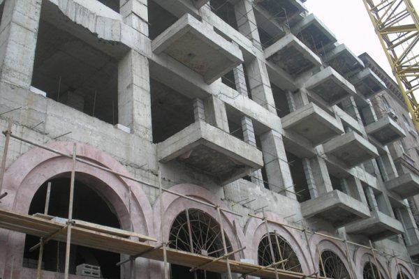 Շինարարության Ընթացքը, 2011-2012