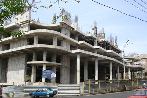 Շինարարության Ընթացքը, Ապրիլ 2012