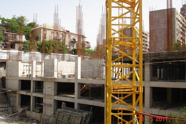 Շինարարության Ընթացքը, Մայիս 2011