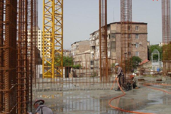 Construction Progress, May 2011