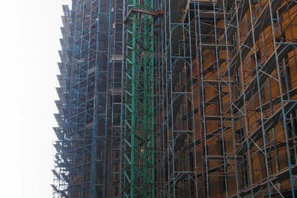 Construction Progress, November 2009