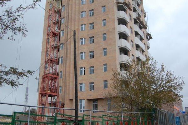 Construction Progress, January 2012