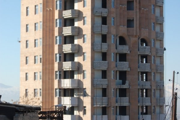 Շինարարության Ընթացքը, Հունվար 2012