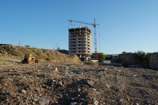 Construction Progress, October 2010