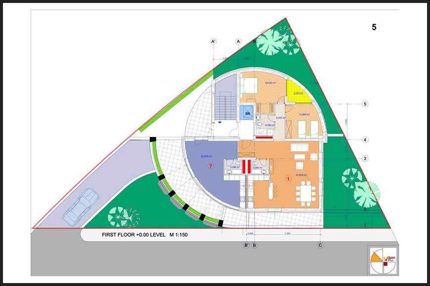 Urban House Plan