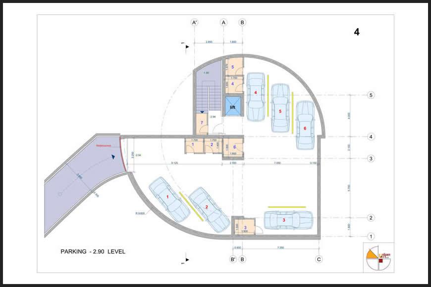 Планировка Здания