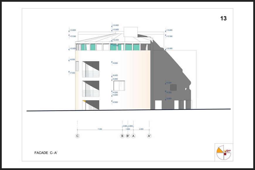 Urban House Plan