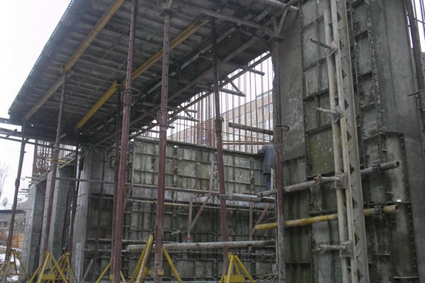 Construction Progress, December 2011