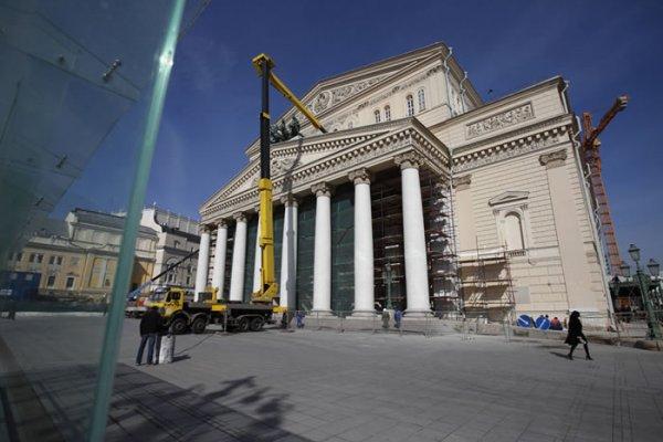 Մեծ Թատրոնի Վերականգնումը Մոտենում է Ավարտին