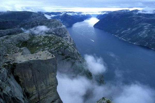 Data Center Is Buried Underground And Cooled By Norway's Fjords