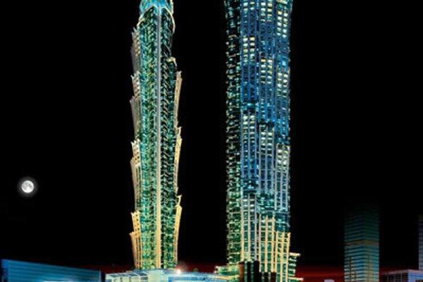 JW Marriott Marquis Dubai Set to be World's Tallest Hotel