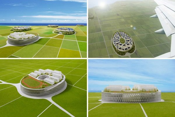 Japanese Architects Designed Sky Villages