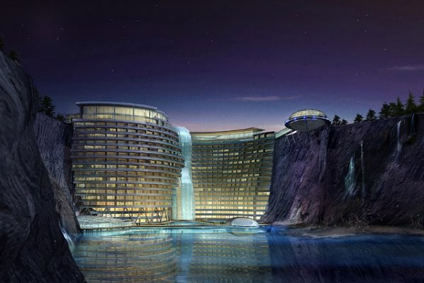 Luxury Hotel 'Groundscraper' Planned In Abandoned Quarry