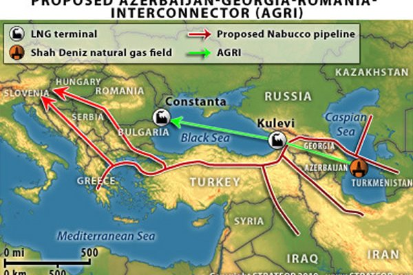 Georgia to Build a Pipeline Bypassing Russia