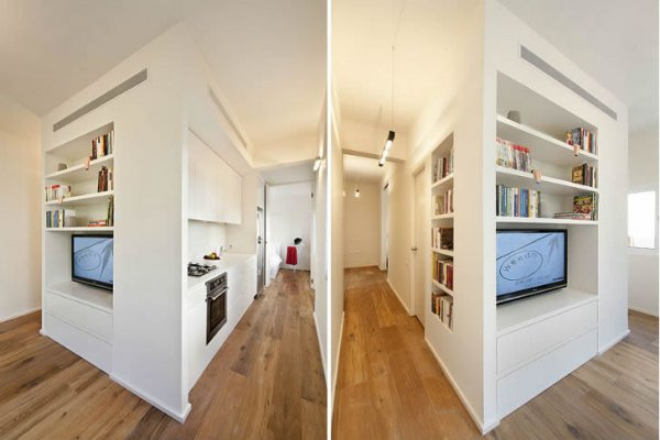 40 Square Meter Apartment Seems Much Larger Than It Really Is