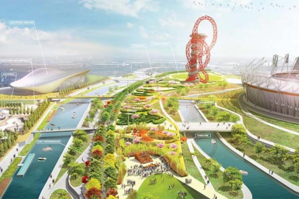 American Architect to Redesign South Plaza of London's Olympic Park