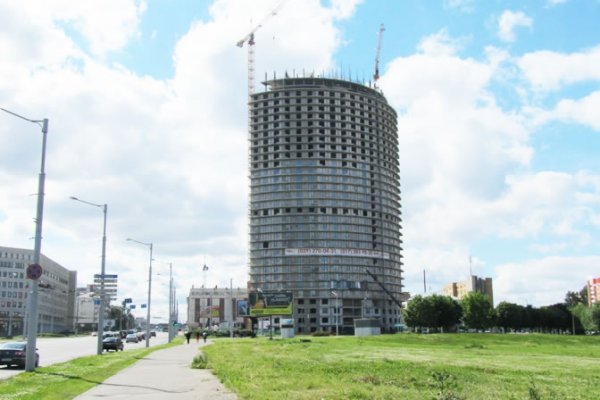 Belarus First Skyscraper Will be Completed In 2013