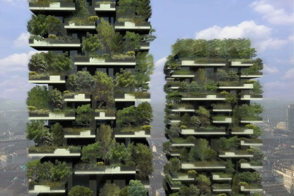 The World's First Vertical Forest Nears Completion