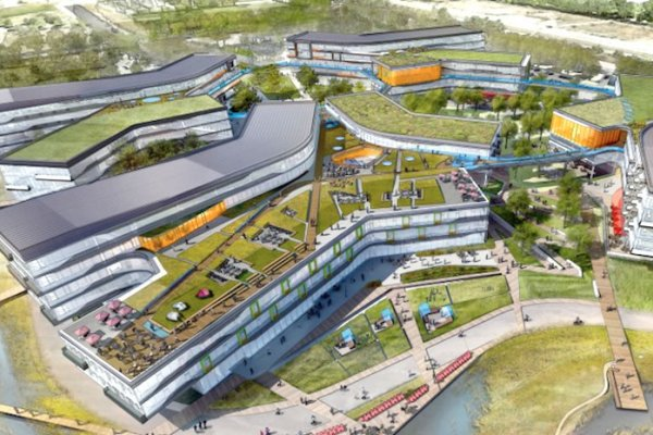 Google Plans For Enormous Green-Roofed Expansion Of California Headquarters