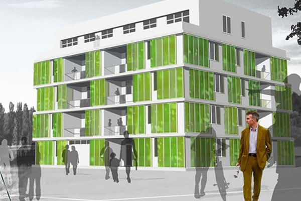 World's First Algae-Powered Building Opens This Month In Germany