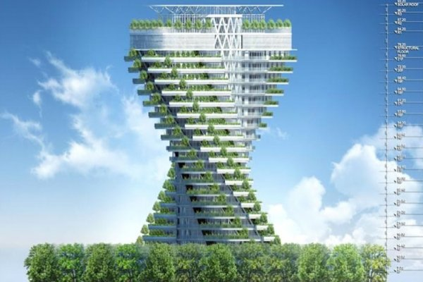 Construction Begins on Taipei's 'Jungle' Skyscraper