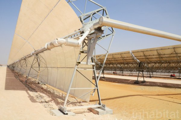 World's Largest Concentrated Solar Power Plant Switches On In Abu Dhabi
