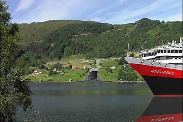 Norway To Build World's First Tunnel For Large Ships