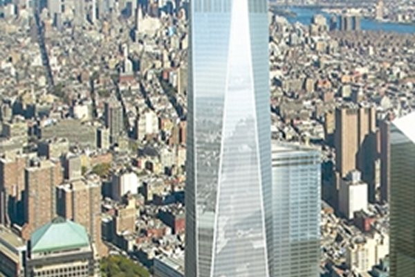 One World Trade Center Tops Out