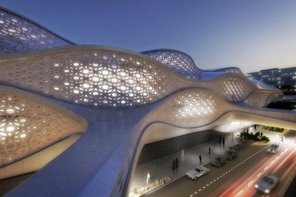 Zaha Hadid Will Design World's Most Luxurious Rail Station