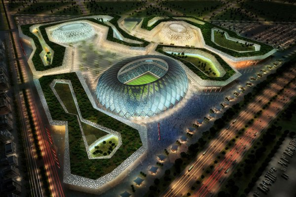 Zaha Hadid Will Design 2022 World Cup Stadium In Qatar