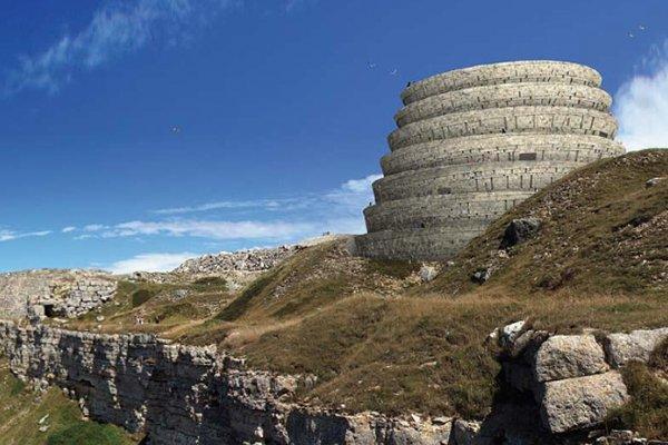 Spiraling Mass Extinction Memorial Observatory Honors The World's Extinct Species