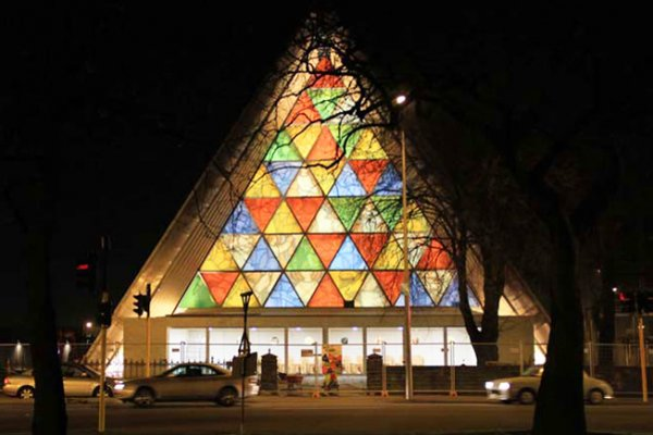 Shigeru Ban Completes Cardboard Cathedral In Christchurch