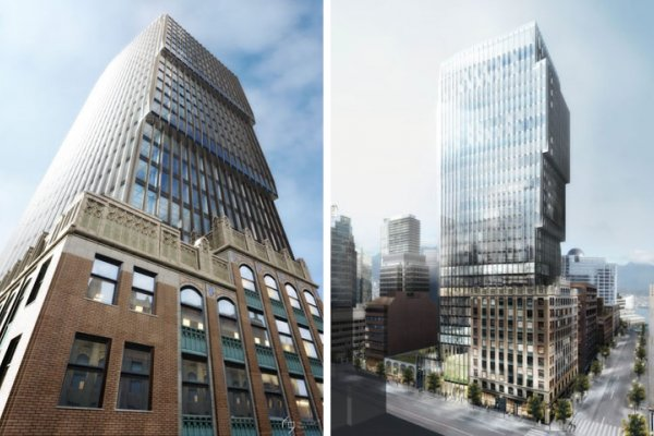 The New Skyscraper To Be Built On Top Of Old One