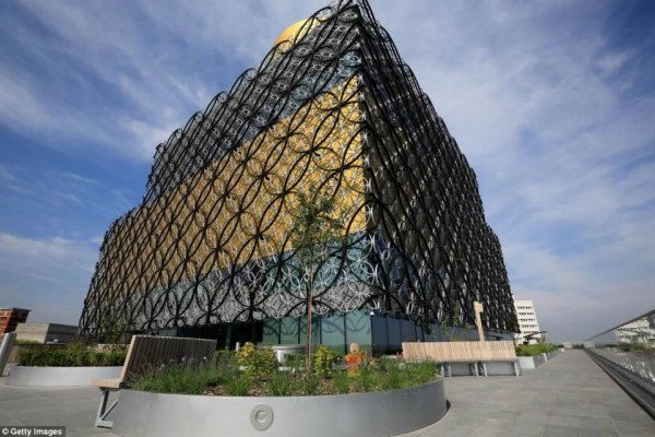 Europe's Largest Public Library Opened In Birmingham