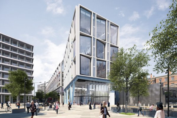 Google London Office With Running Track Wins Approval