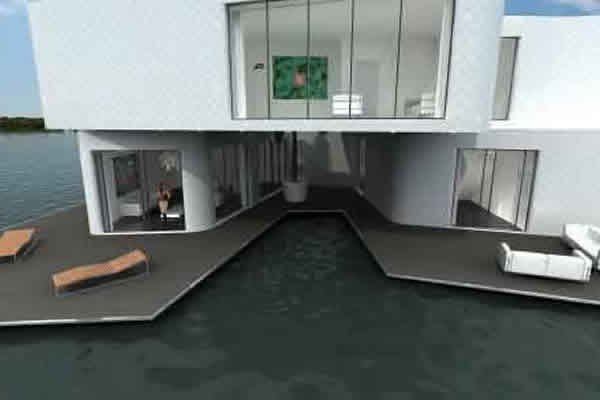World's First Floating Apartment Complex To Begin Construction in 2014