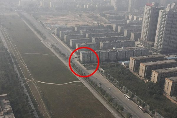 China Accidentally Builds Flats In Path Of New Highway