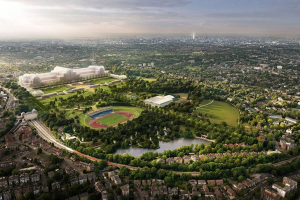 London's Historic Crystal Palace To Be Rebuilt