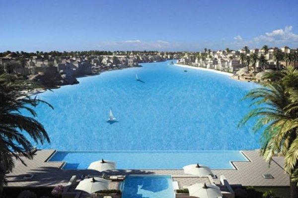 Dubai Builds World's Largest Caribbean-Style Manmade Lagoon