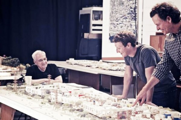 Frank Gehry To Design Facebook's London And Dublin Headquarters