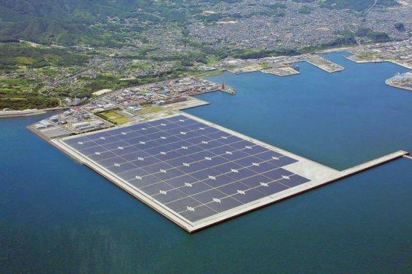 Japans Largest Offshore Solar Power Plant Opened