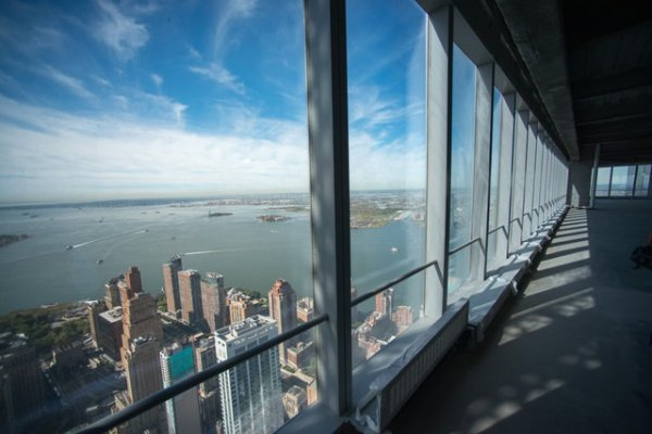 NYC's First World Trade Center Tower Opened